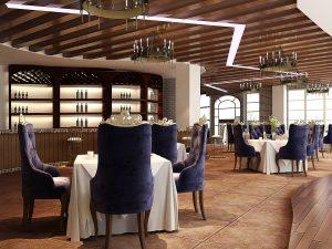 salón comedor de un restaurante